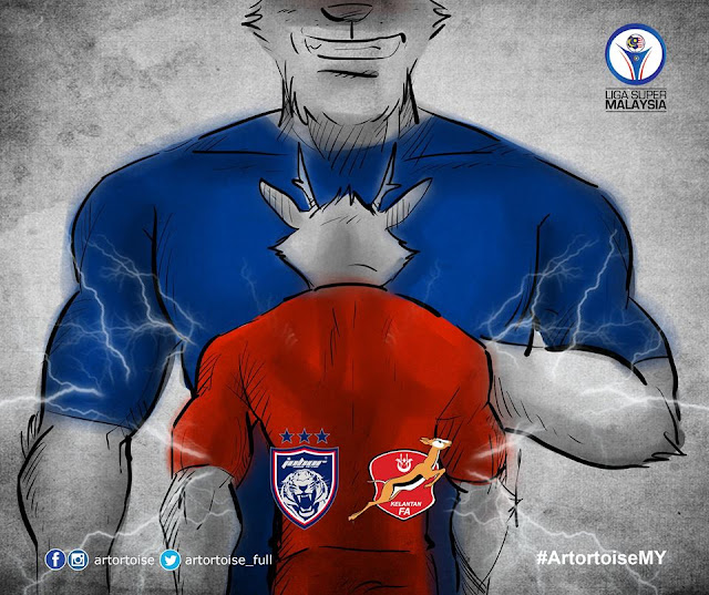 Live Streaming JDT Vs Kelantan Liga Super 20 September 2017