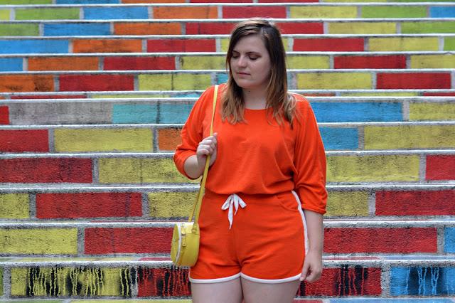 Wear Lemonade combinaison Claudia coquelicot à Lyon
