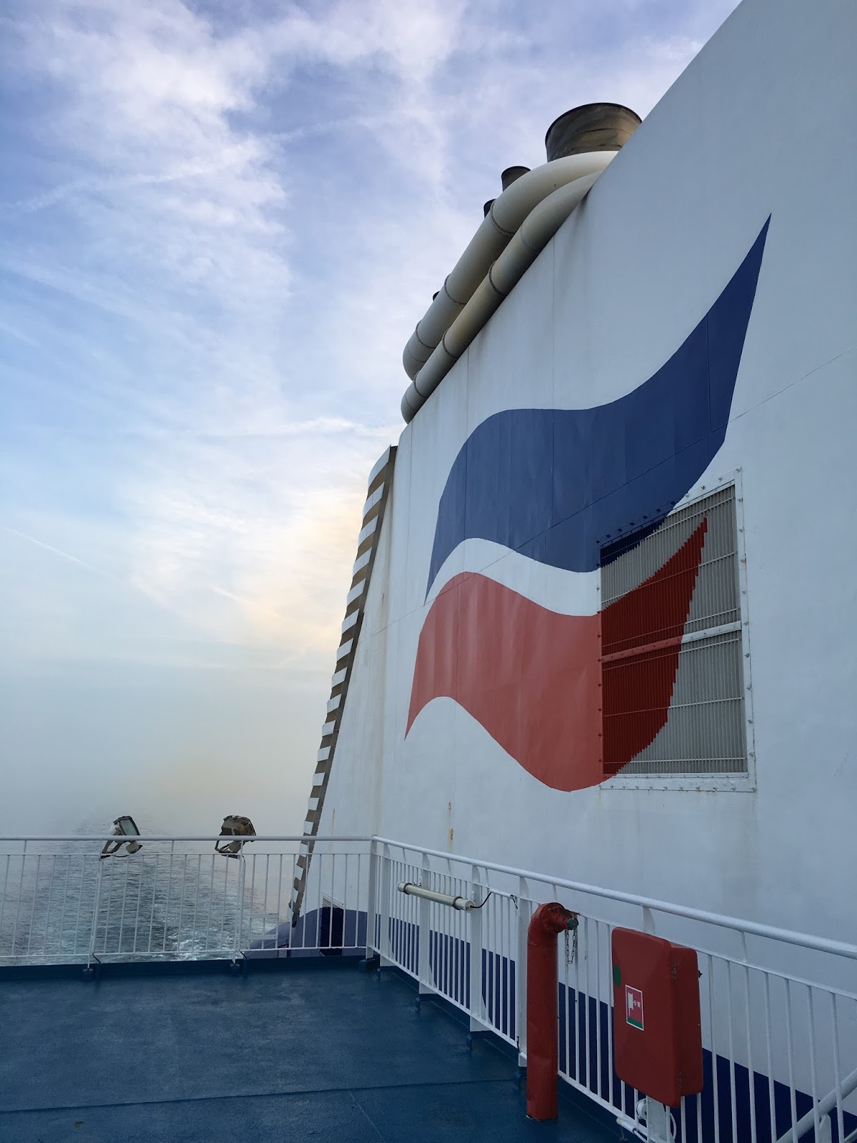 On board the Pont-Aven, Brittany Ferries