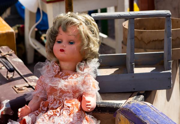 PauMau blogi tapahtumat kesä 2015 rompetori kirppis kirpputori rajamäki nurmijärvi vintage vanha nukke lelu old doll toy