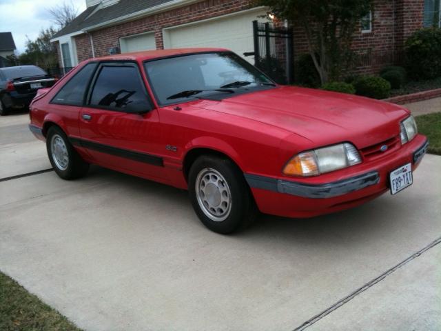 1989 Mustang Interior Parts