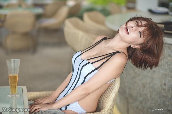 Image Ryu-Ji-Hye-Hot-Thang-4-2017-MrCong.com-012 in post Người đẹp Ryu Ji Hye nóng bỏng khoe dáng cùng trang phục tắm biển 4/2017 (35 ảnh)