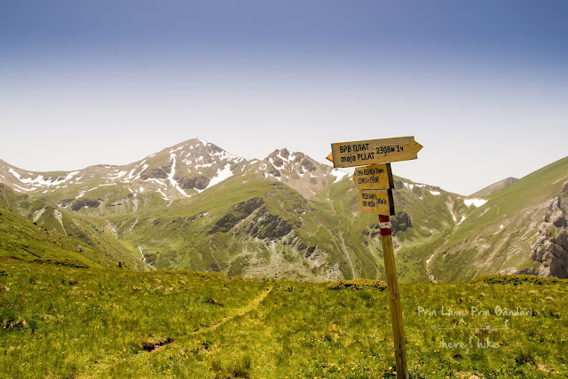 Titov Peak - Macedonia - saddle before peak