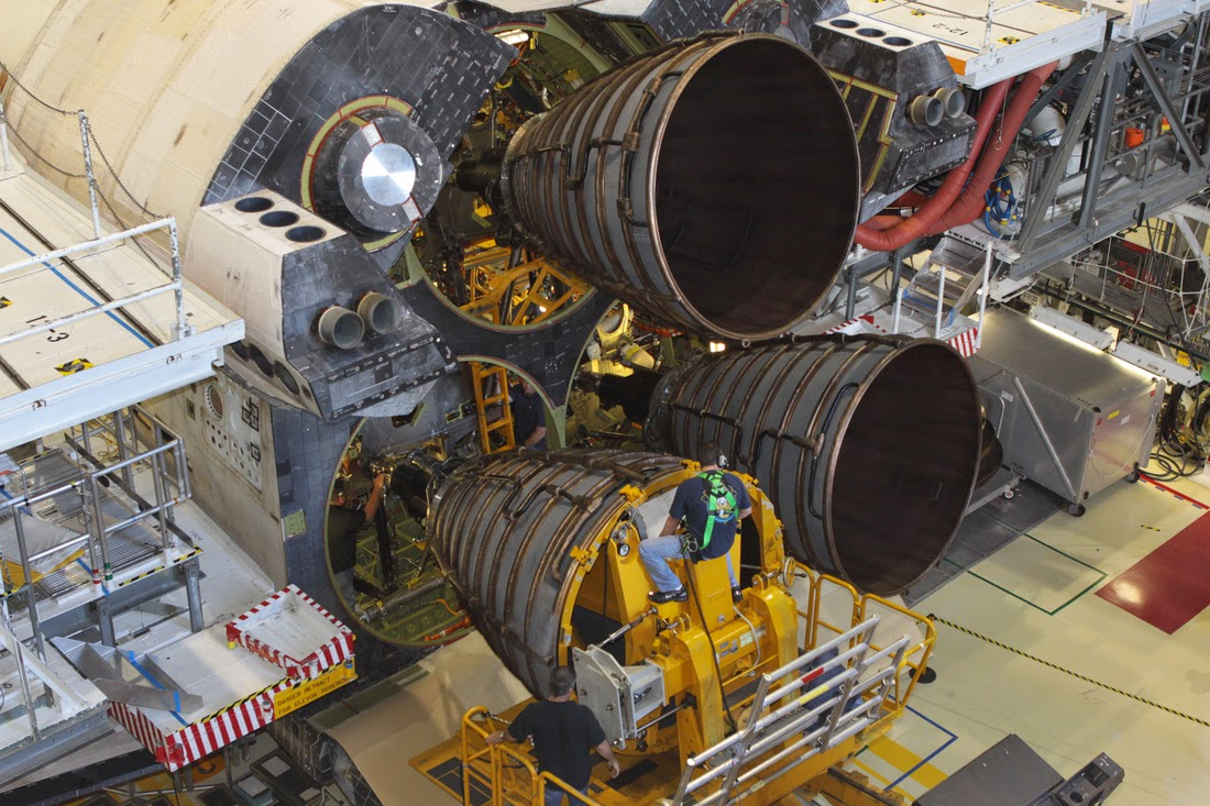 space shuttle engine - photo #1