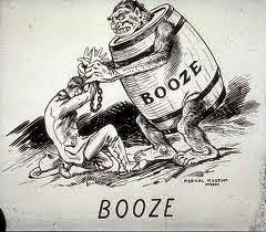 The Origin of the word Booze