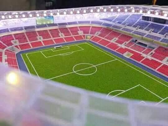 Gambar Rekabentuk Stadium Bolasepak JDT Baharu