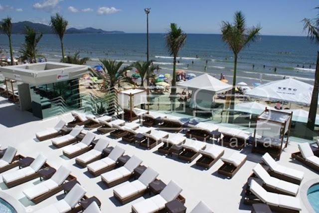 V2124 - Atlantic Paradise Towers - Apartamento 4 suítes Finamente Mobiliado - Frente ao Mar - Meia Praia - Itapema/SC
