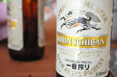 Kirin Ichiban - Cerveja japonesa
