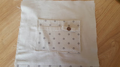 Reversible bag with pocket - tutorial & pattern