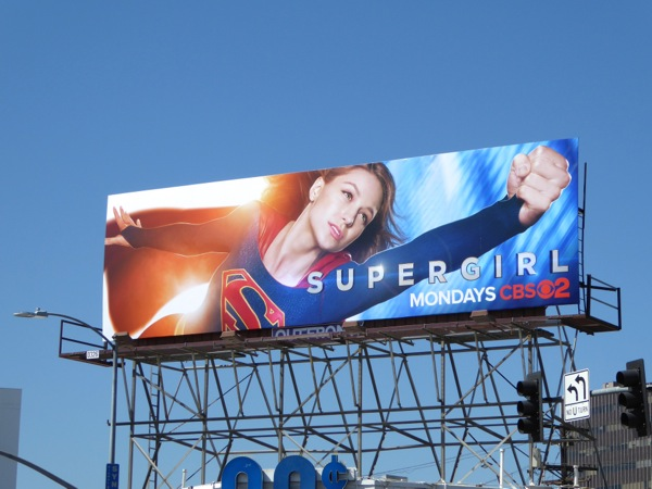 Supergirl series billboard