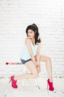 Bollywood Actress Adah Sharma Spicy Ultra HD Poshoot Gallery in Denim Shorts  0005.jpg