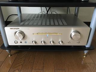マランツ製プリメインアンプPM8001