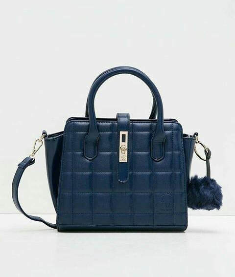 Jims Honey Pillow Bag Blue