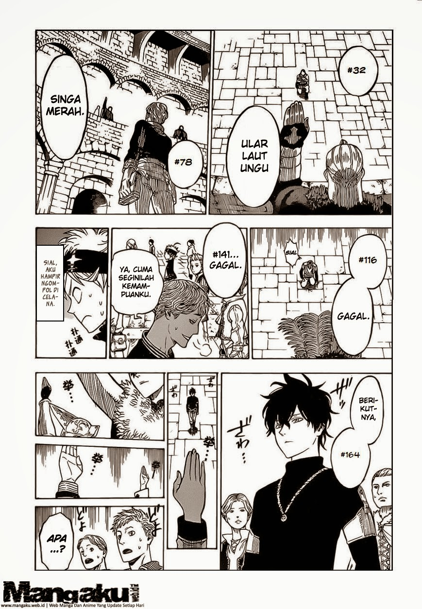 Baca Manga Black Clover Chapter 3 Bahasa Indonesia