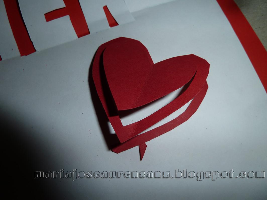 Fotografías De Mj Aurensanz: Tarjeta De San Valentín Pop