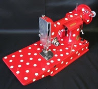A Mary Lou Style Sewing Machine-Wish It was Mine!