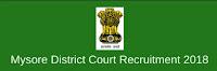 Mysore District Court Recruitment 39 Peon Posts