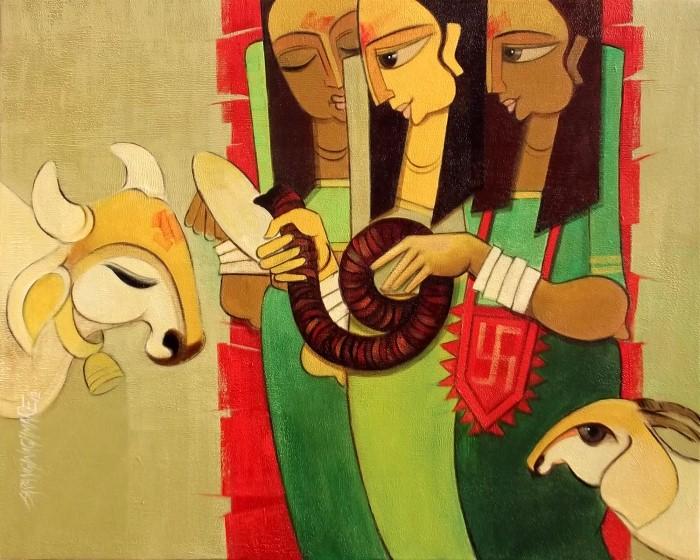 Красота индийской культуры. Sarang Waghmare 15