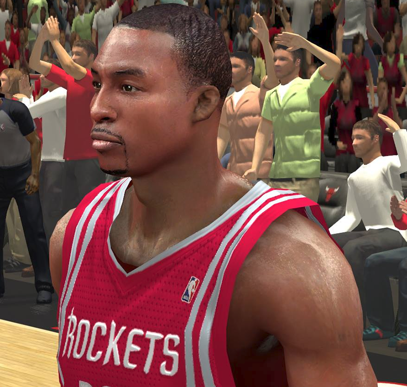 NBA 2K14 Dwight Howard Cyberface Patch