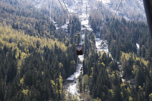 Téléphérique Aiguille du Midi - Chamonix