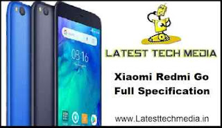 Xiaomi Redmi Go Full Specification