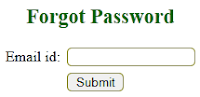 Forgot password in php