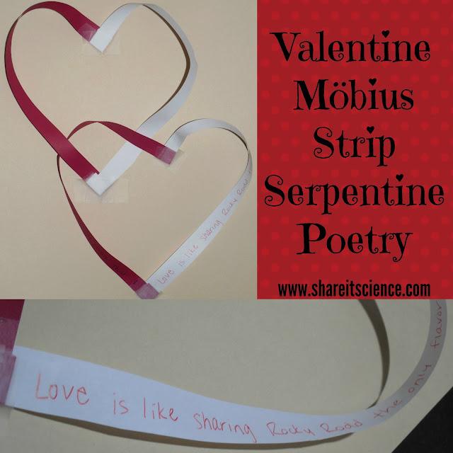 Valentine Möbius Strip Serpentine Poetry