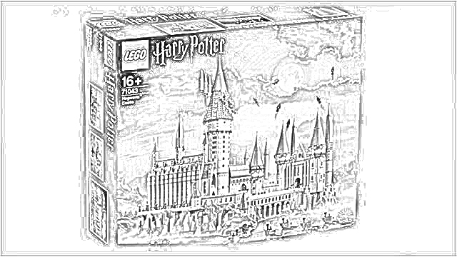 The Holiday Site Harry Potter Lego Great Hall Coloring Pages Free And Downloadable