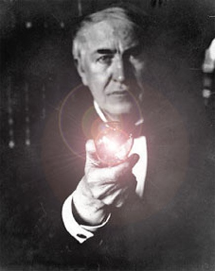 Edison Light Bulb History