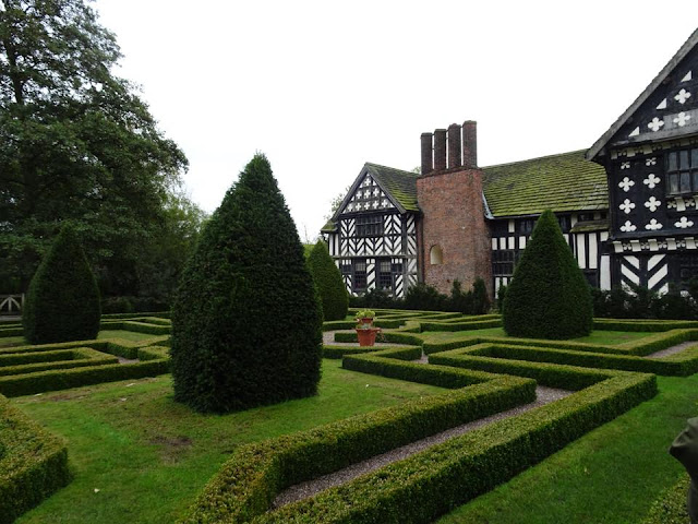Tudor Knot Garden Little Morton Hall