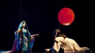 Irano lėlių teatro pasirodymas