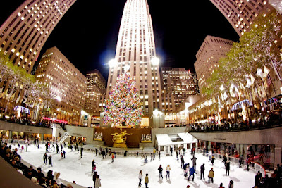 Pista de Patinaje Rockefeller center