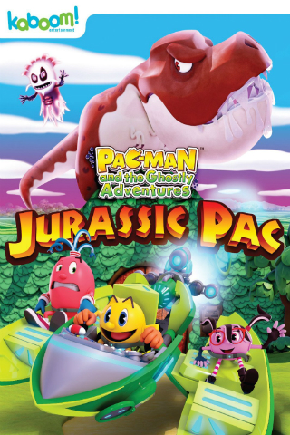 Pac-Man and the Ghostly Adventures: Jurassic Pac [2015] [DVDR] [NTSC] [Latino]