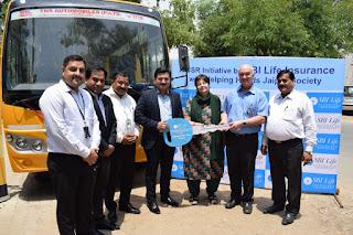 SBI Life Insurance  CSR  Jaipur - Helping Hands Jaipur Society