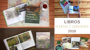 Libros de plantas y jardinería comentados en 2018