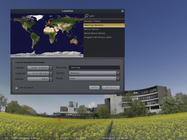 Stellarium, o aplicatie planetarium gratuita