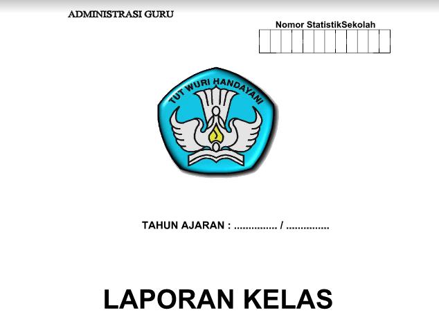Cover Format Buku Laporan Kelas