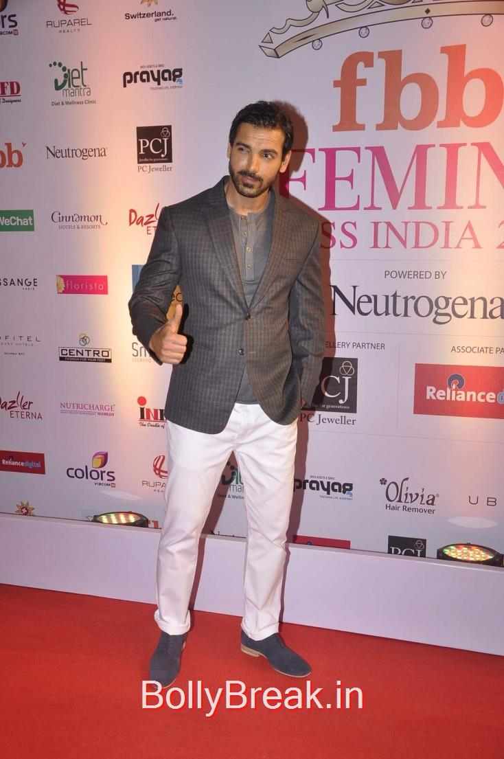 John Abraham, Femina Miss India 2015 Red Carpet Photo Gallery