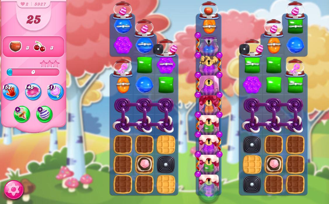 Candy Crush Saga level 5927