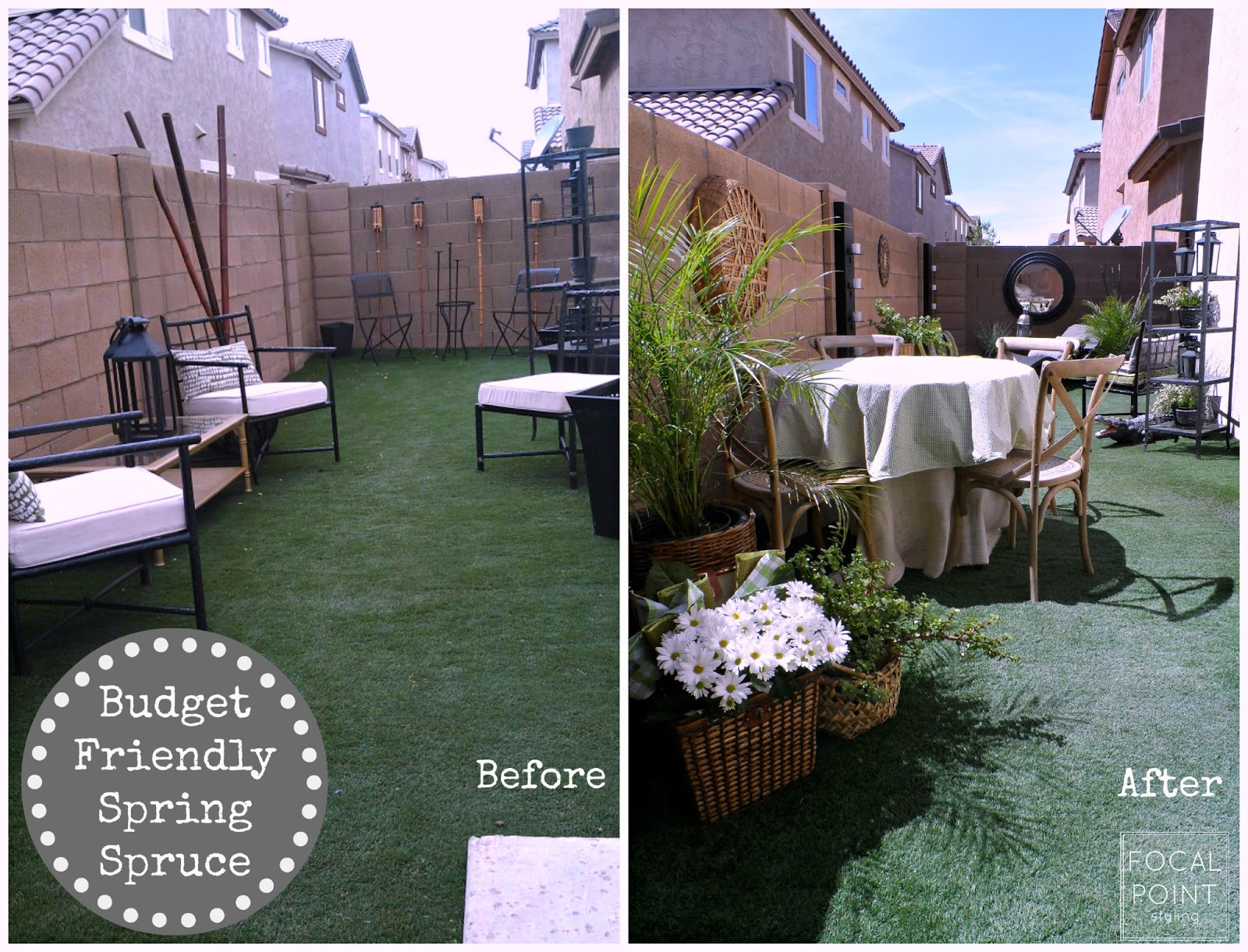 FOCAL POINT STYLING: Rental ReStyle: Budget-Friendly ... on Budget Friendly Patio Ideas  id=65837