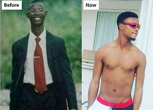 Lolz! Checkout throwback photo of comedian, I Go Dye (See pics)