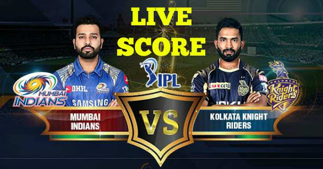 IPL 2018 Match 41 KKR vs MI Live Score and Full Scorecard