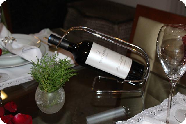 Detalhes Vinho : Decoração do Jantar Dia dos Namorados