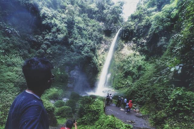Spot Foto keren di air terjun Malang