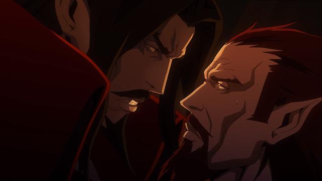 Drácula-e-Goodbrand-segunda-temporada-Castlevania