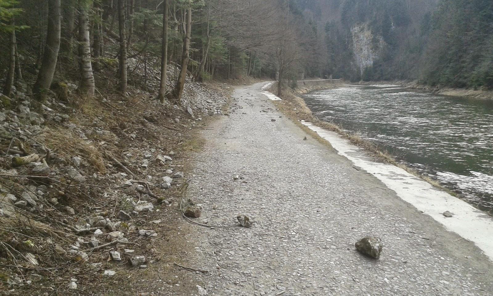 Droga pienińska w marcu