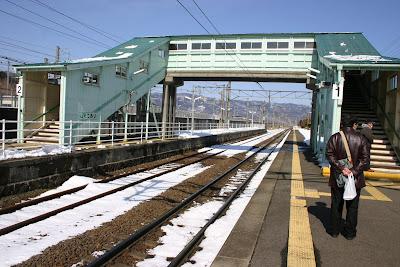 桑折駅跨線橋