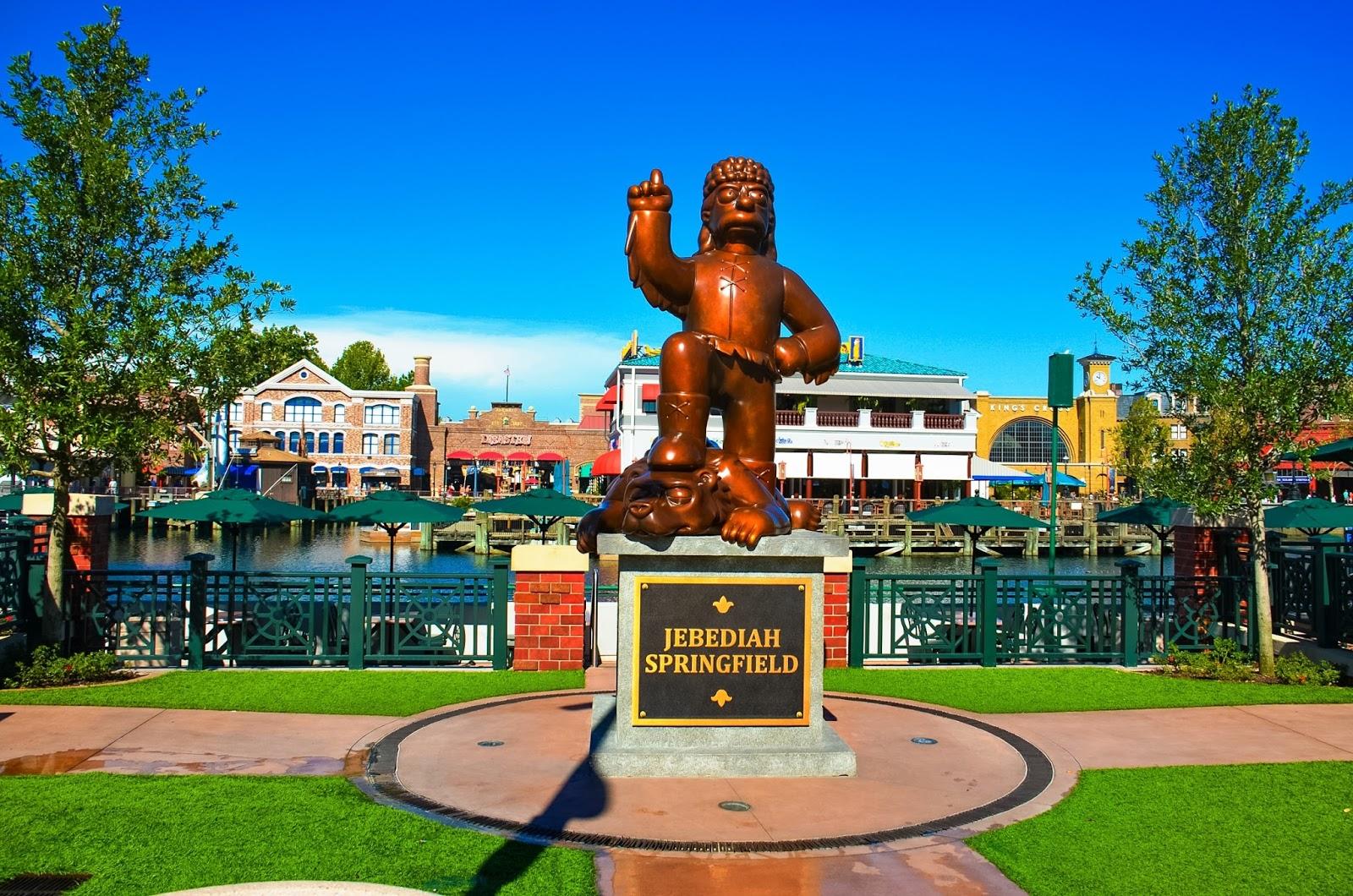 jebediah springfield statue