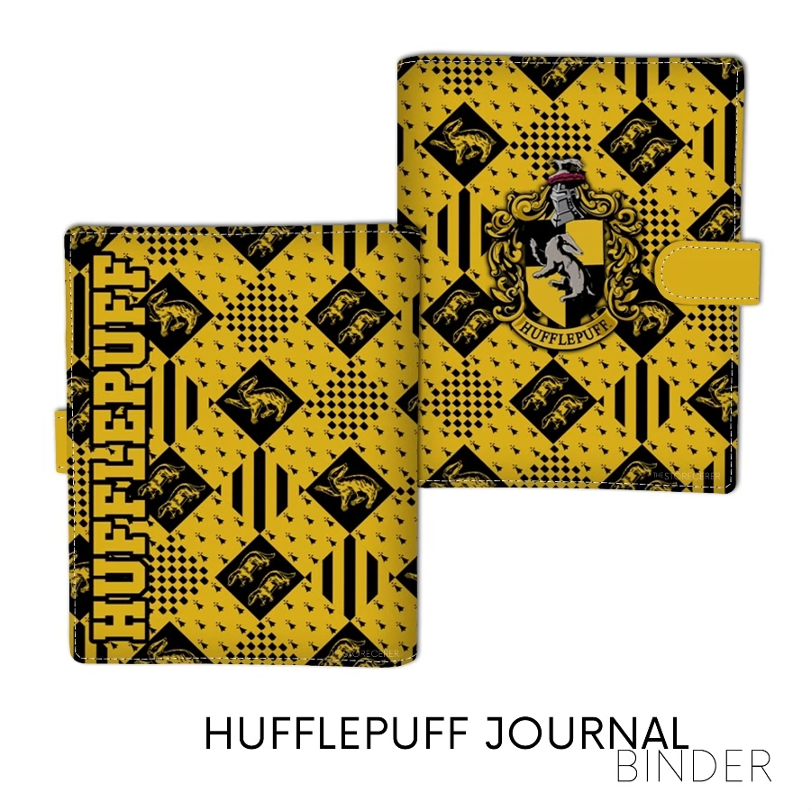 Binder Jurnal Hufflepuff