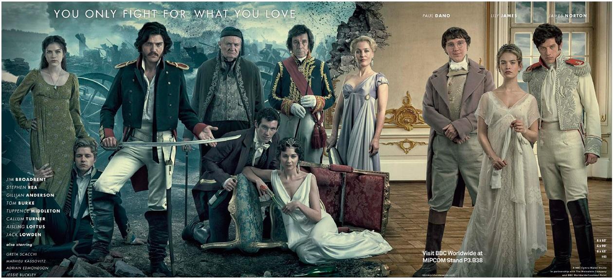 televisão internacional 2016 war and peace
